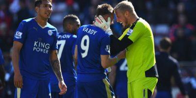 Leicester se coronó por primera vez en su historia como campeón de la Premier League Foto:Getty Images