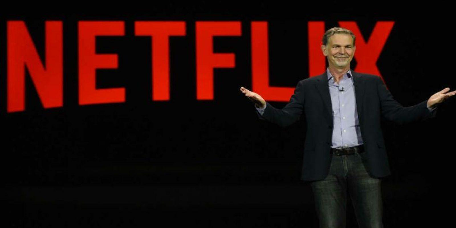 """Reed Hastings dijo que """"mantenemos la mente abierta ante esa posibilidad"""". Foto:Getty Images"""