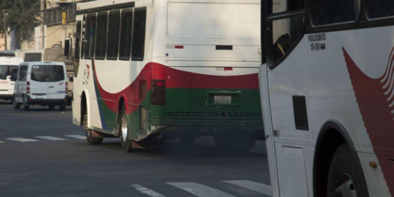 Además de las restitución de los microbuses. Foto:Cuartoscuro