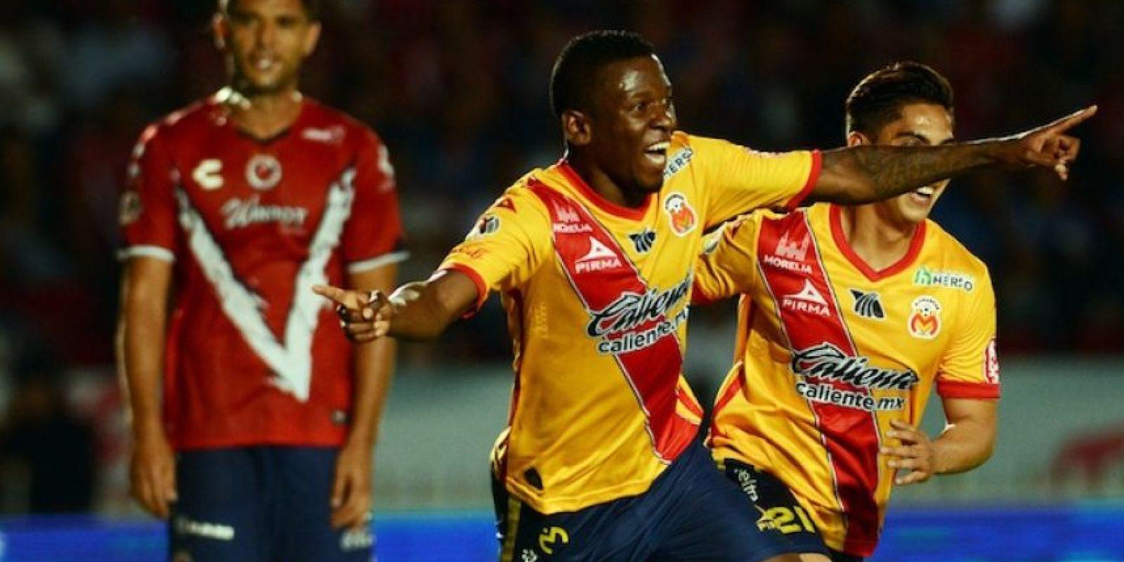 Jefferson Cuero marcó el doblete que definió el encuentro. Foto:Mexsport