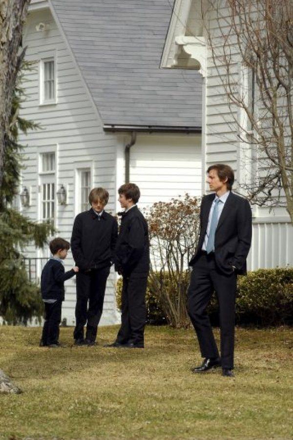 Después de que su esposa, la también actriz Natasha Rich Foto:Getty Images