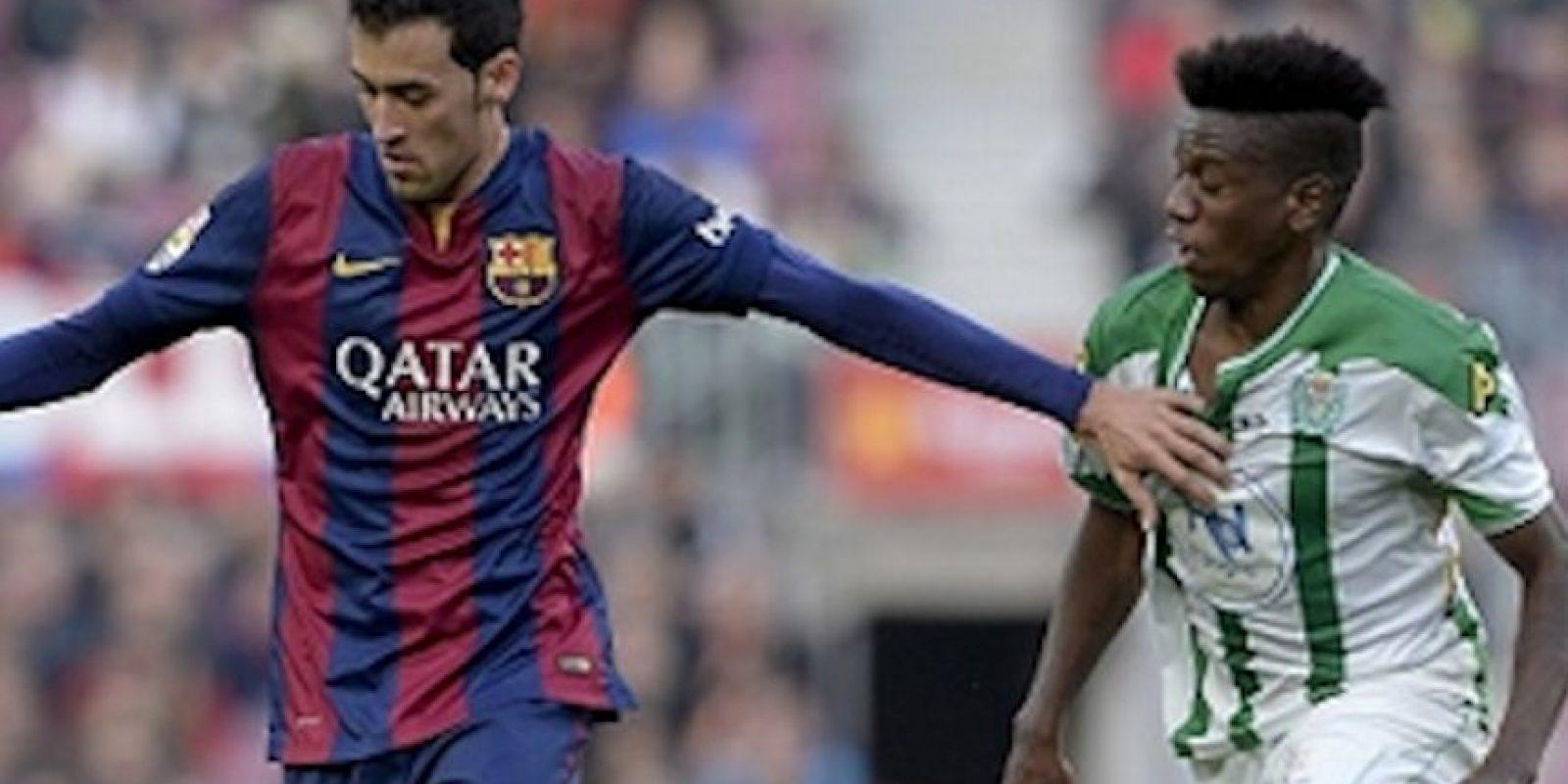 Patrick Ekeng jugó en el Córdoba español, de 2014 a 2015. Foto:Getty Images