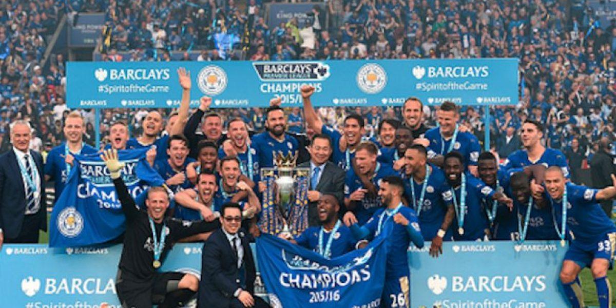 FOTOS: Frente a su gente, Leicester recibe el trofeo de la Premier League