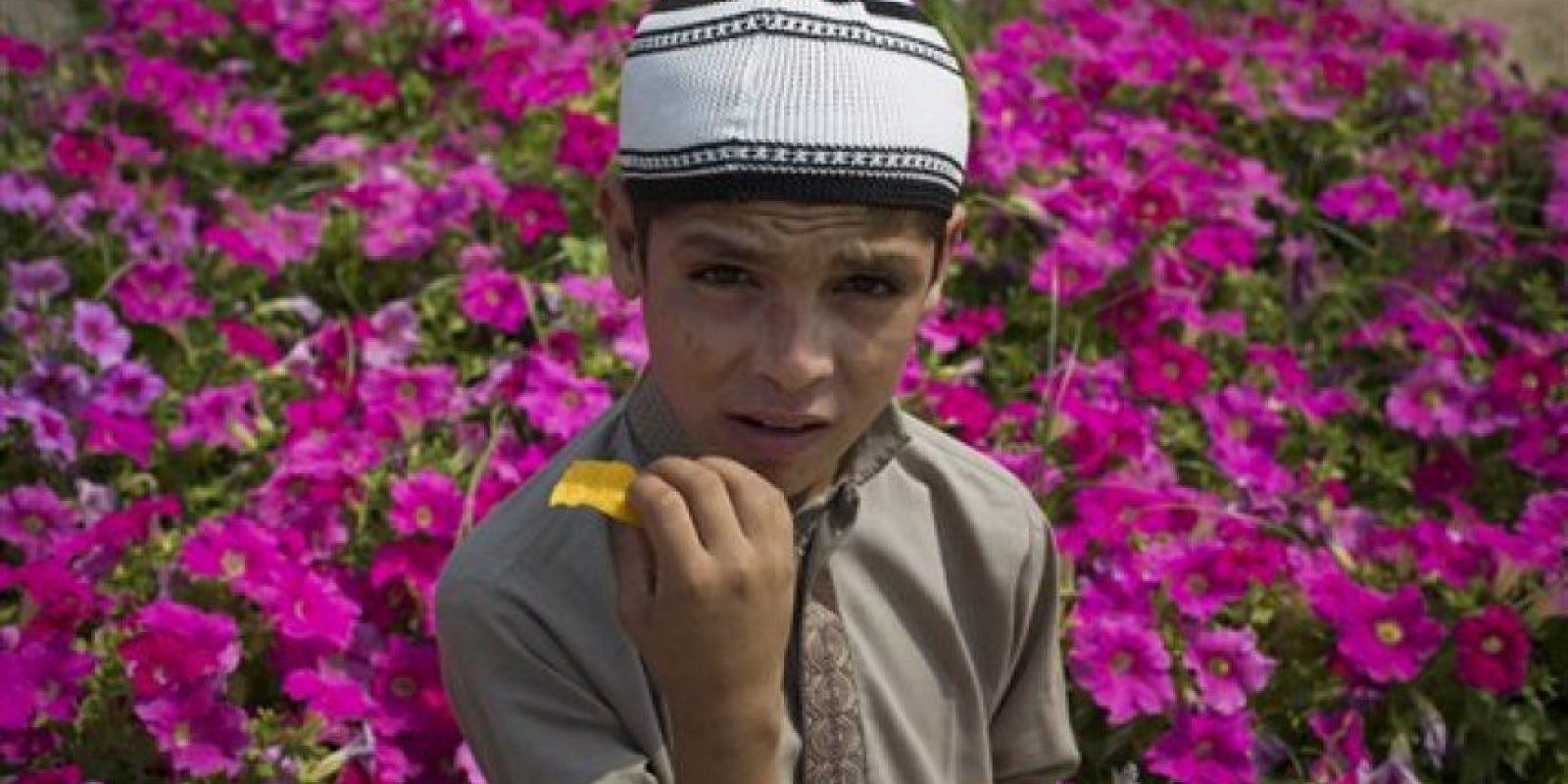 Abdul Rasheed, de nueve años desea ser quiere ser un clérigo musulmán. Foto:AP