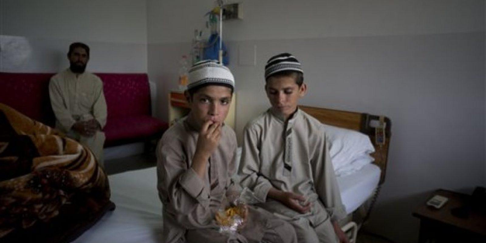 Los niños paquistaníes que son un acertijo para los médicos Foto:AP
