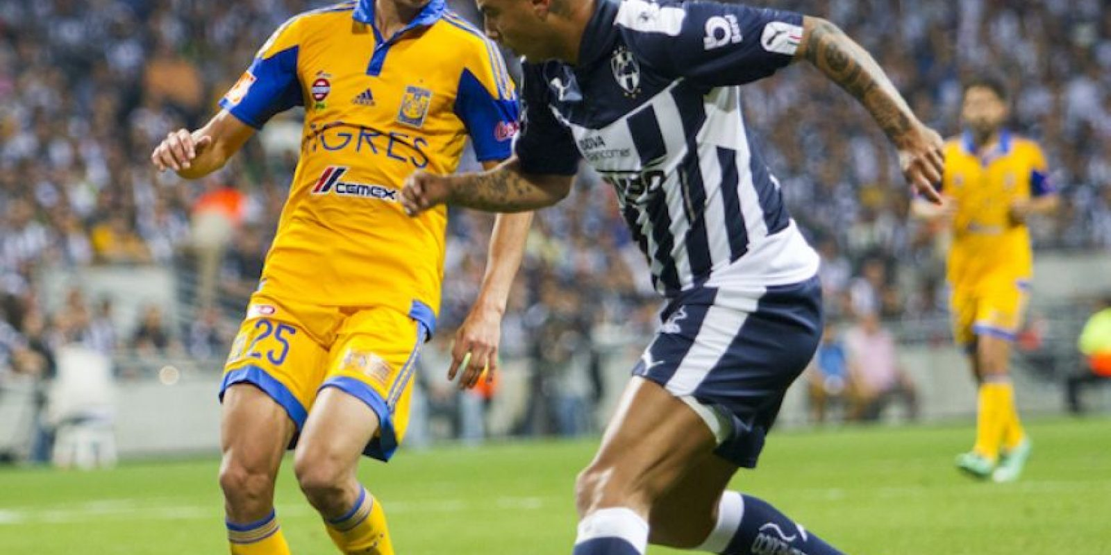 Monterrey vs Tigres Foto:Mexsport