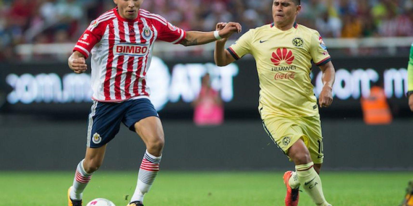 América vs Chivas Foto:Mexsport