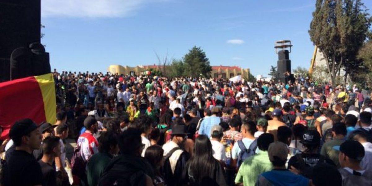 Marchan en la CDMX por la legalización de la marihuana