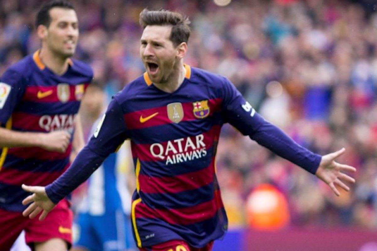 Messi apareció de nuevo para marcar el 1-0. Foto:Getty Images