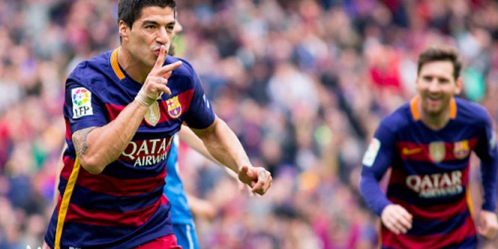 Luis Suárez marcó un doblete para guiar al Barcelona una nueva victoria. Foto:Getty Images