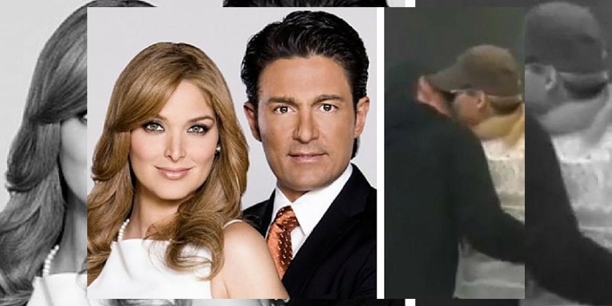 Captan a Fernando Colunga y Blanca Soto besándose en Miami
