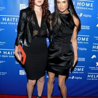 Rumer Willis y Demi Moore Foto:Getty Images