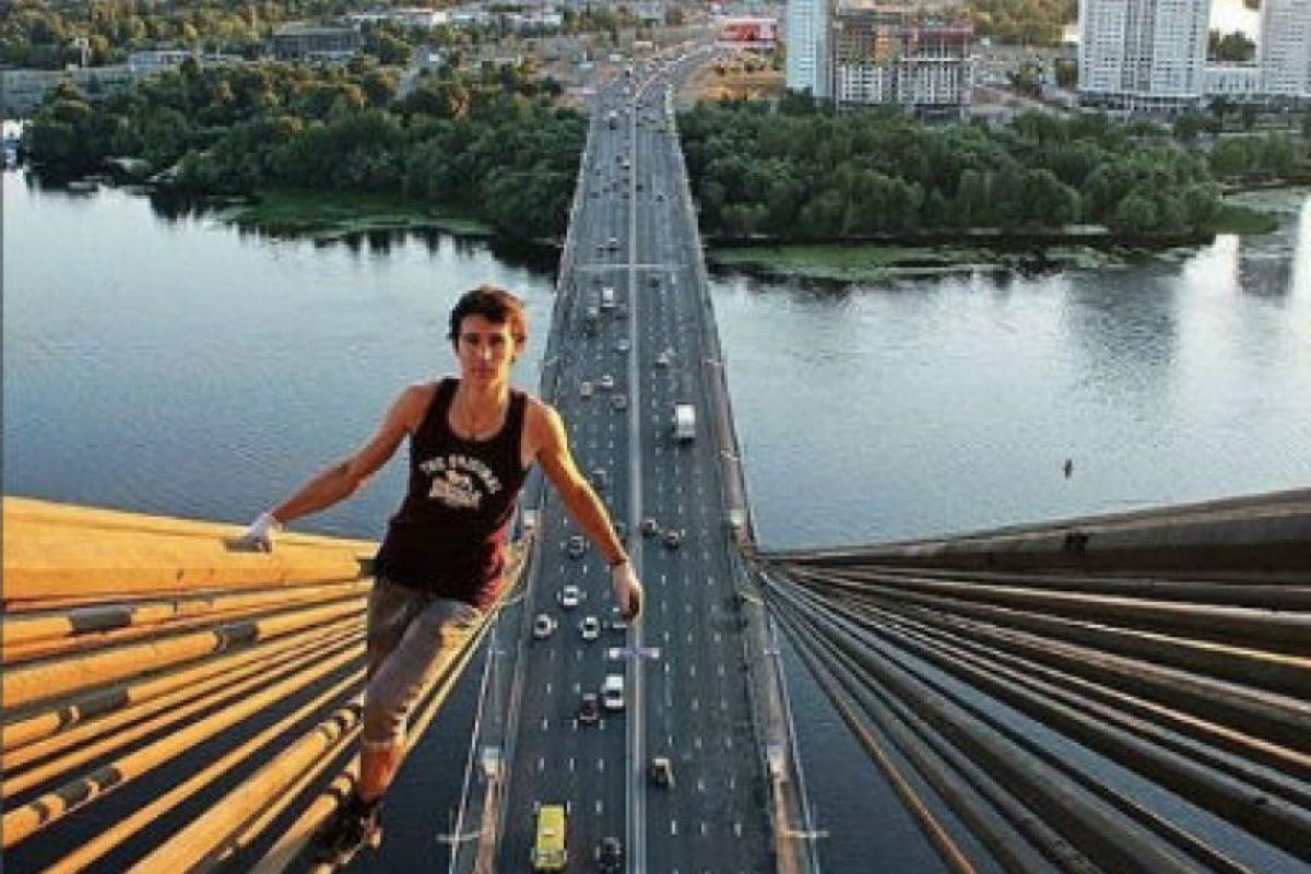 Kirill Oreshkin es un chico ruso amante de los selfies extremos. Foto:instagram.com/kirill_oreshkin_official/