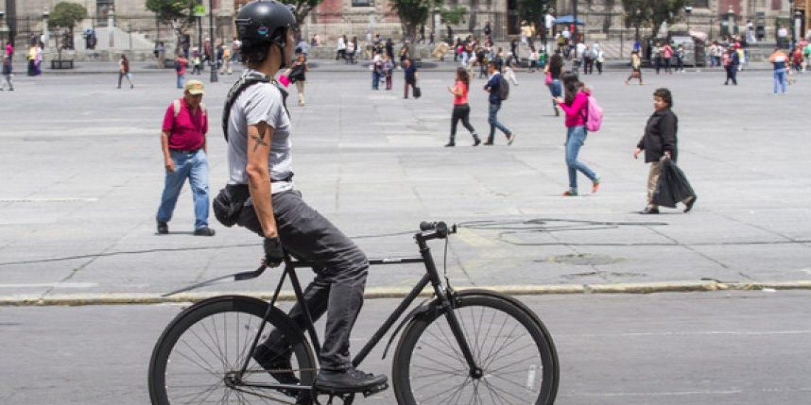 Quedarían libres de autos el exterior del edificio del Gobierno de la Ciudad cercano a la Suprema Corte, del Palacio Nacional y Catedral Foto:Cuartoscuro