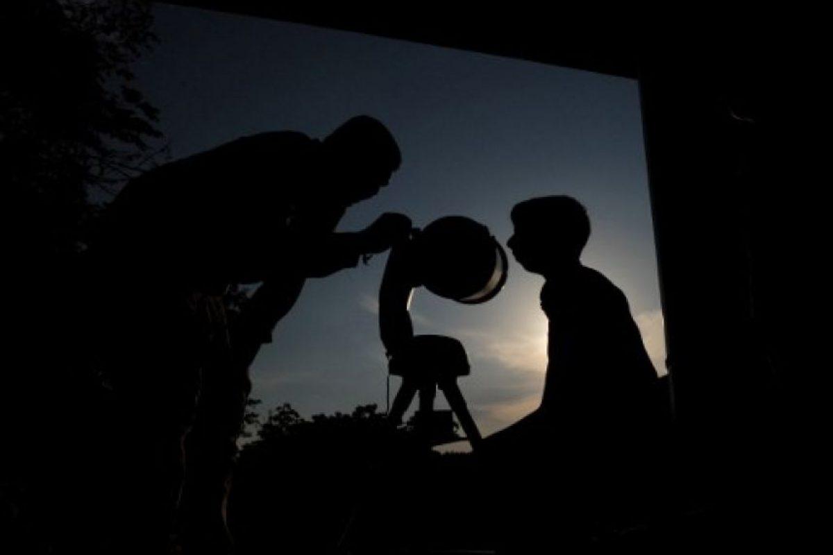 Tránsito de Mercurio Foto:AFP