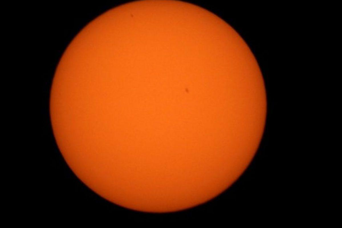 De acuerdo con la NASA, Mercurio pasa entre la Tierra y el Sol solo 13 veces en un siglo. Foto:AFP