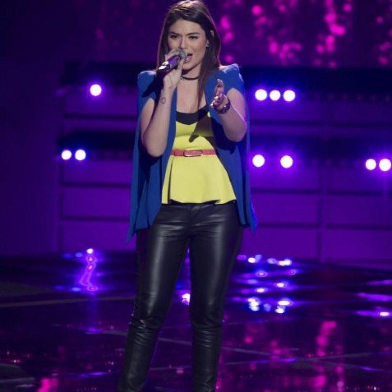 Anira cantó Blank space y gracias a ello ahora forma parte del equipo de J Balvin Foto:Televisa