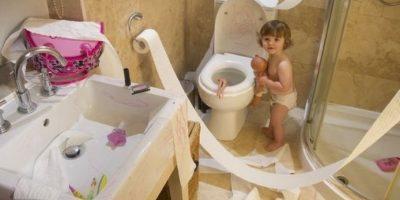 "Una ""divertida"" fiesta de papel. Foto:Vía Pinterest"