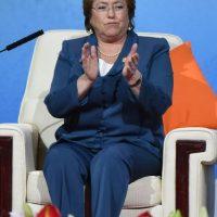 Francisca Valentina Dávalos Bachelet, de 30 años, Jorge Alberto Sebastián Dávalos Bachelet, de 37 años y Sofía Catalina Henríquez Bachelet, de 24 años. Foto:Getty Images