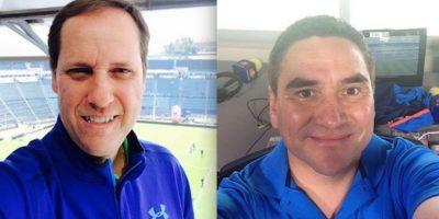 Paco Villa y Jorge Pietrasanta, comentaristas de Televisa Deportes Foto:Especial