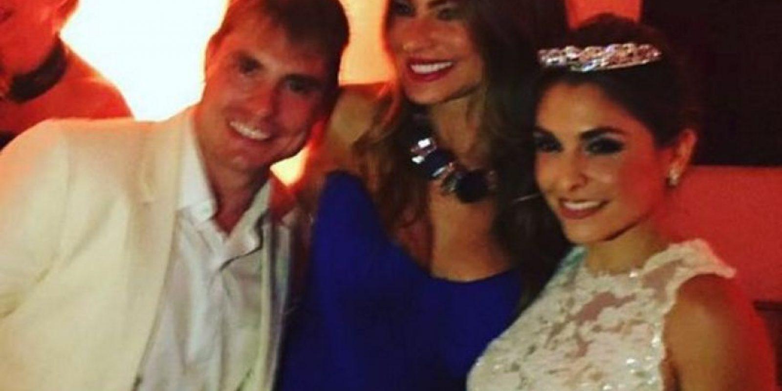 Asistió a la boda de su primo en Cartagena, Colombia Foto:Vía instagram.com/sofiavergara