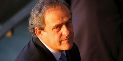 Se le acusa de un pago dudoso de dos millones de francos suizos que recibó de Joseph Blatter Foto:Getty Images