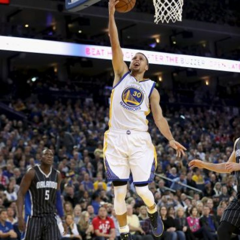 Es el líder de los campeones Golden State Warriors Foto: Getty Images
