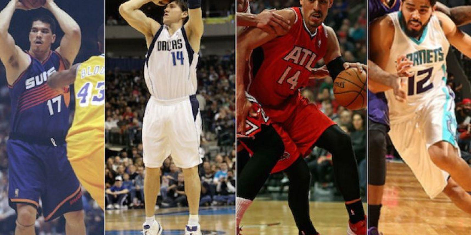 Estos son los cuatro mexicanos que han militado en la liga de basquetbol más poderosa del mundo: la NBA. Foto:Especial