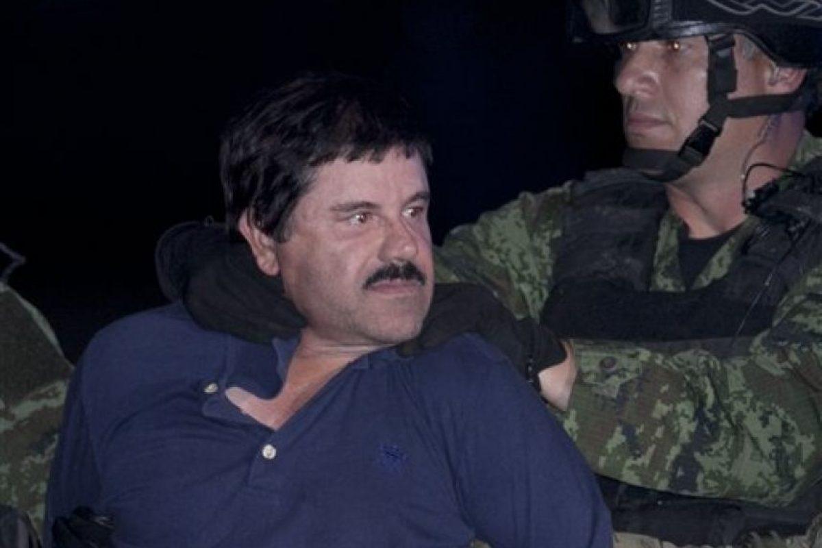 El 8 de enero de este año el narcotraficante fue detenido en el estado de Sinaloa, México. Foto:AP