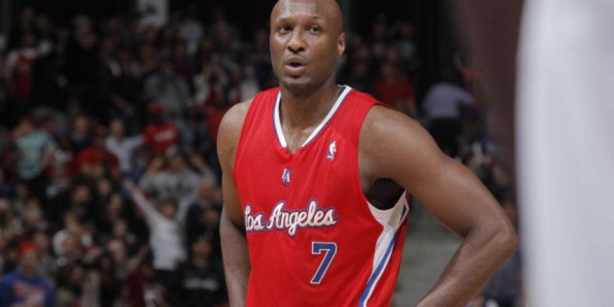 Salen a la luz fotos del ex basquetbolista Lamar Odom tras sobredosis