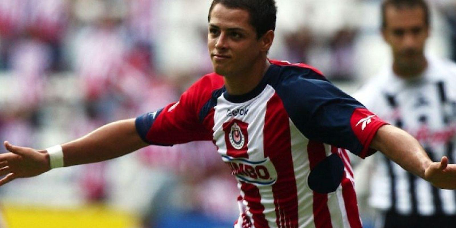 """Para Javier Hernández Chivas es """"el único equipo que siempre amará"""". Foto:Mexsport"""
