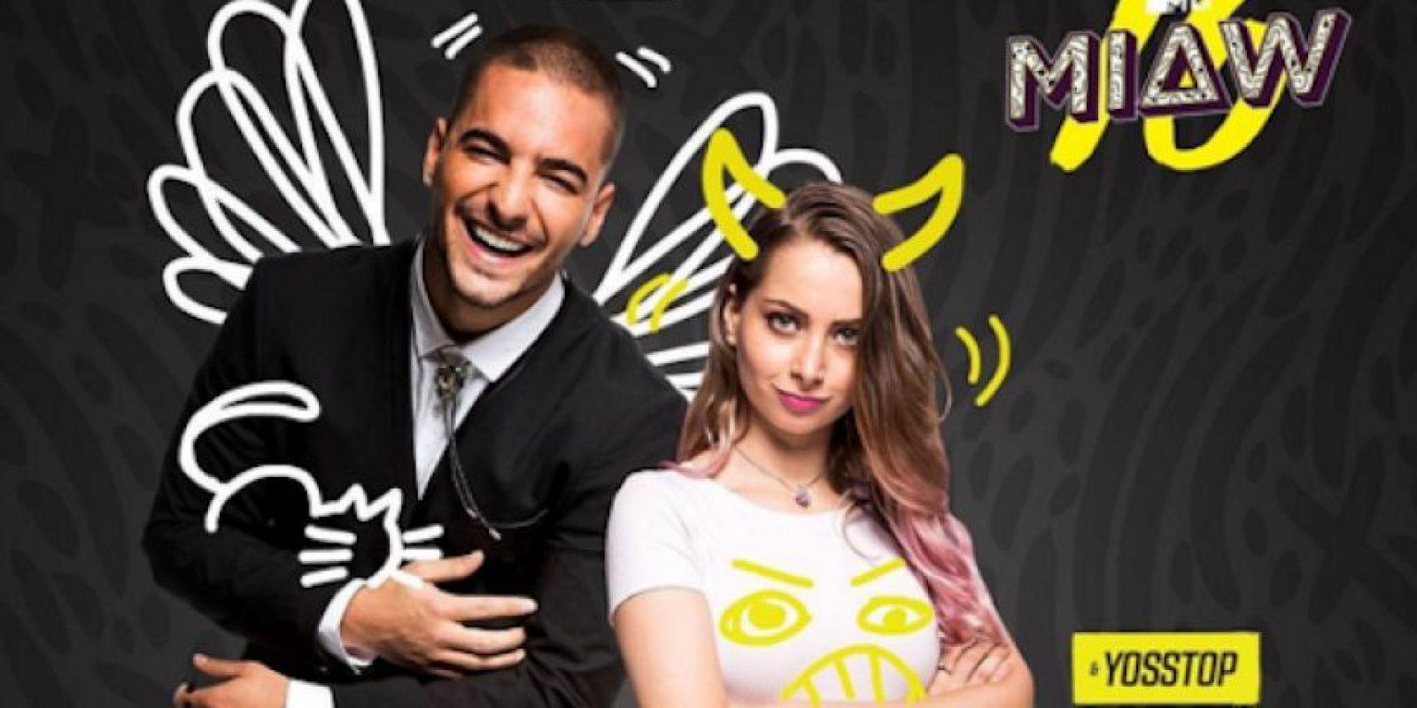 El cantante colombiano, Maluma y la estrella de YouTube, YosStop son los conductores confirmados para los próximos premios MTV MIAW'16 Foto:MTV