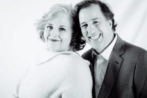José Antonio Meade con su madre Foto:Especial