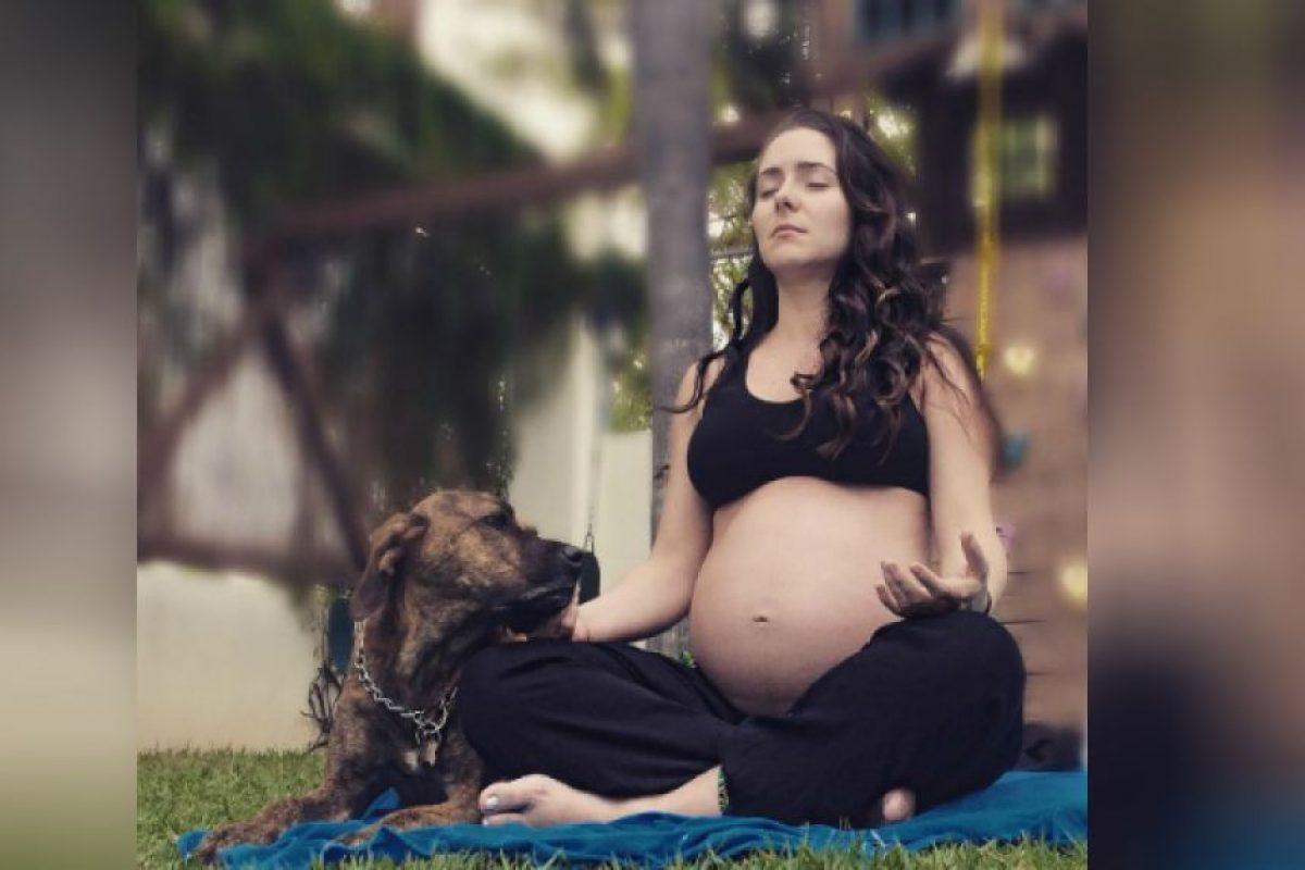 Ariadne Díaz disfruta de sus últimos días de embarazo Foto:Instagram/ariadne_diaz