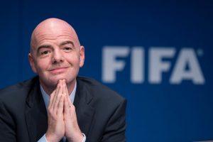 El presidente de FIFA visita México Foto:Getty Images
