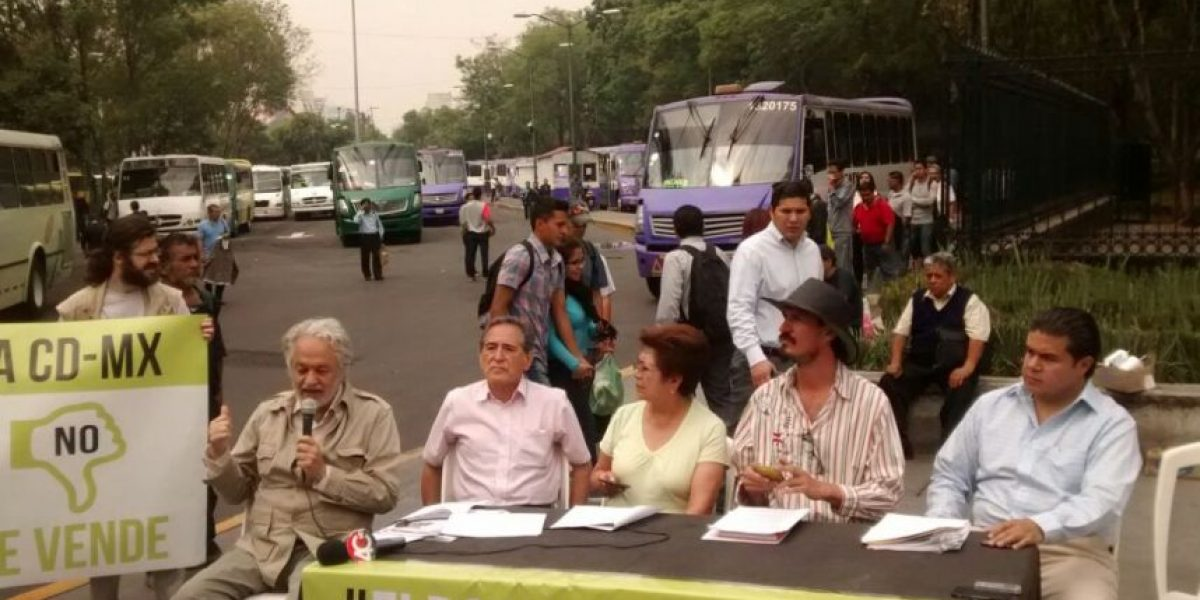 Paradero de Chapultepec reactiva defensa del Bosque