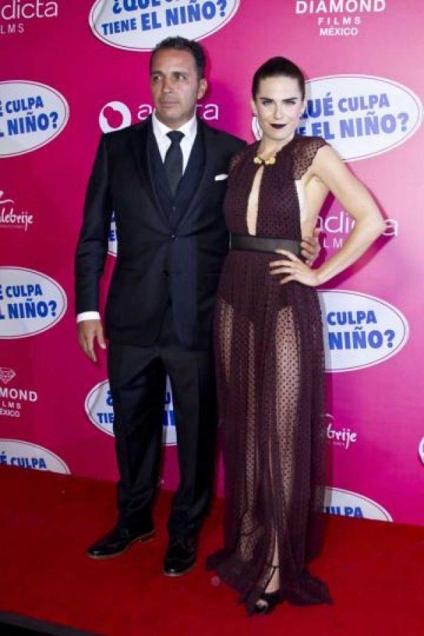 Karla Souza y el productor Gustavo Loza hicieron una mancuerna perfecta. Foto:JDS