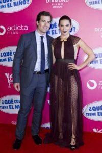 Karla Souza estuvo acompañada de su esposo Marshall Trenkmann Foto:JDS