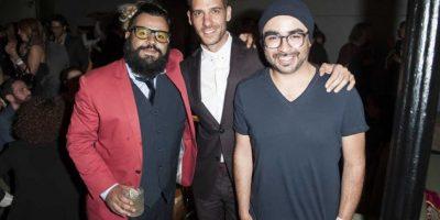 A la fiesta llegaron grandes personalidades como El Diablito, Erick Elías y Sandoval
