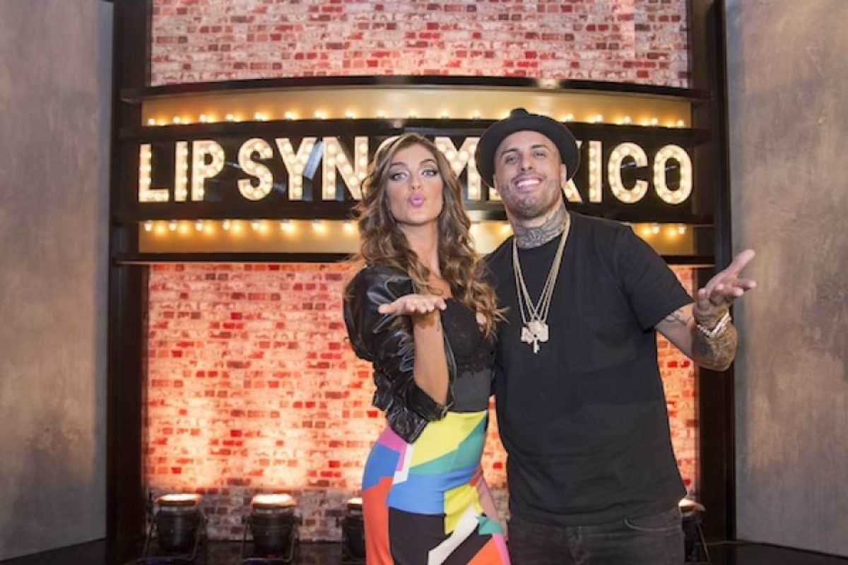 """LIP SYNC"" MÉXICO NICK JAM Y ARIANA RON PEDRIQUE Foto: Comedy Central"