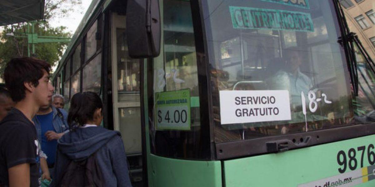CDMX: darán 50% de descuento en transporte a jóvenes