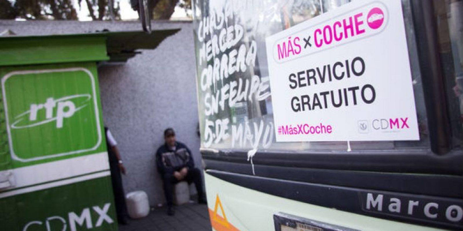 No se contempló al Sistema de Transporte Colectivo Metro porque ya cuenta con una reducción especial para estudiantes Foto:Archivo Cuartoscuro
