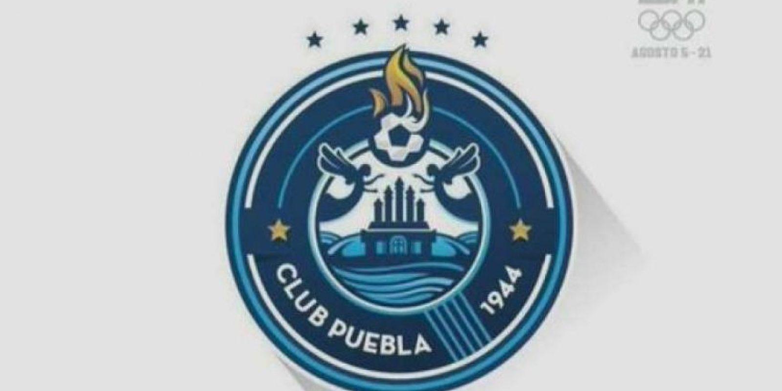 El nuego logo de Puebla Foto:ESPN