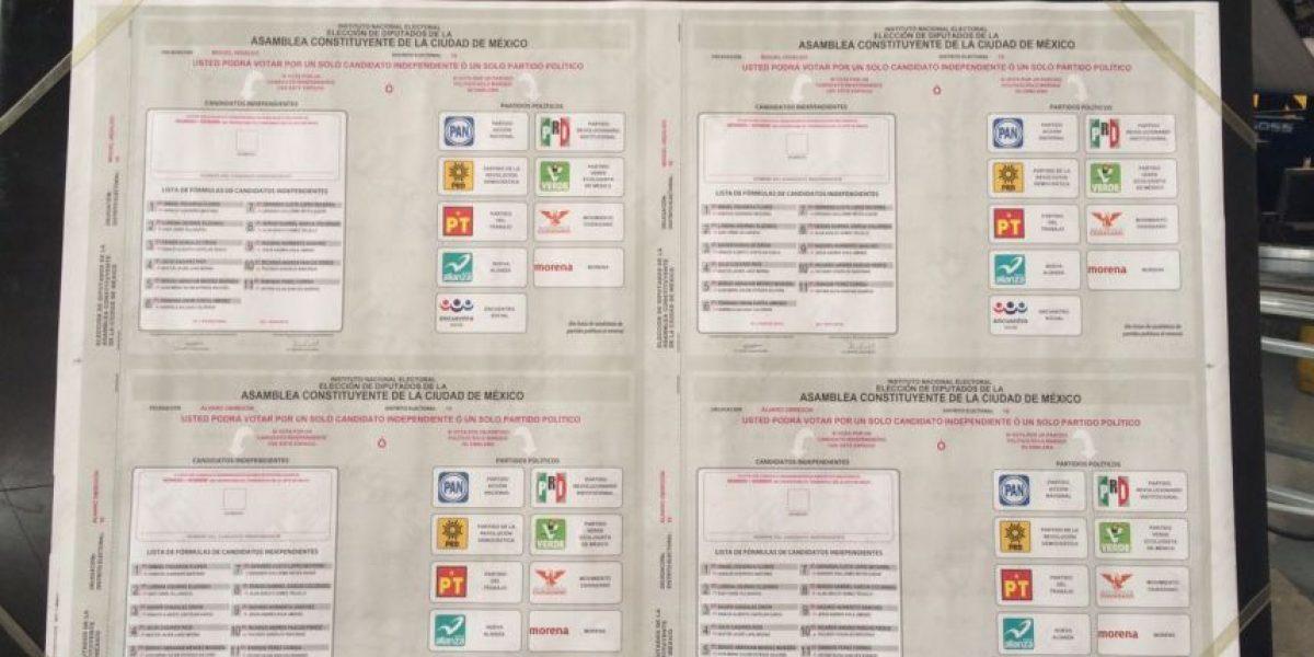 Inicia impresión de 8 millones de boletas para la Asamblea Constituyente