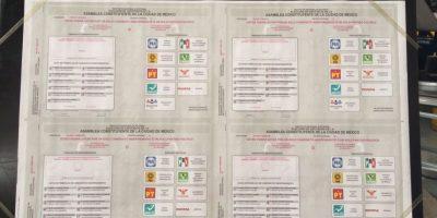 La lista de candidatos se podrá ver al reverso de la boleta, tal como se aprobó la semana pasada. Foto:Publimetro