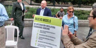Criticaron que es la continuacuón de lo que iba a ser el proyecto comercial en avenida Chapultepec y que remataba con la noria a un costado del Muse de Arte Moderno Foto:Israel Zamarrón/Publimetro
