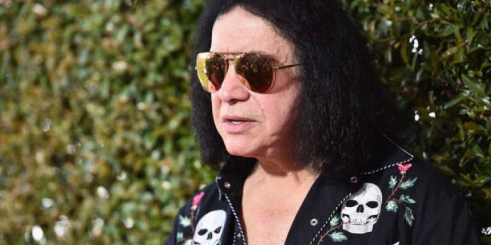 El bajista de Kiss se ganó el despreció de los usuarios de las redes sociales. Foto:Getty Images