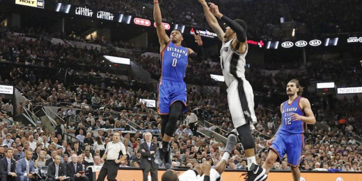 Thunder está a punto de eliminar a Spurs