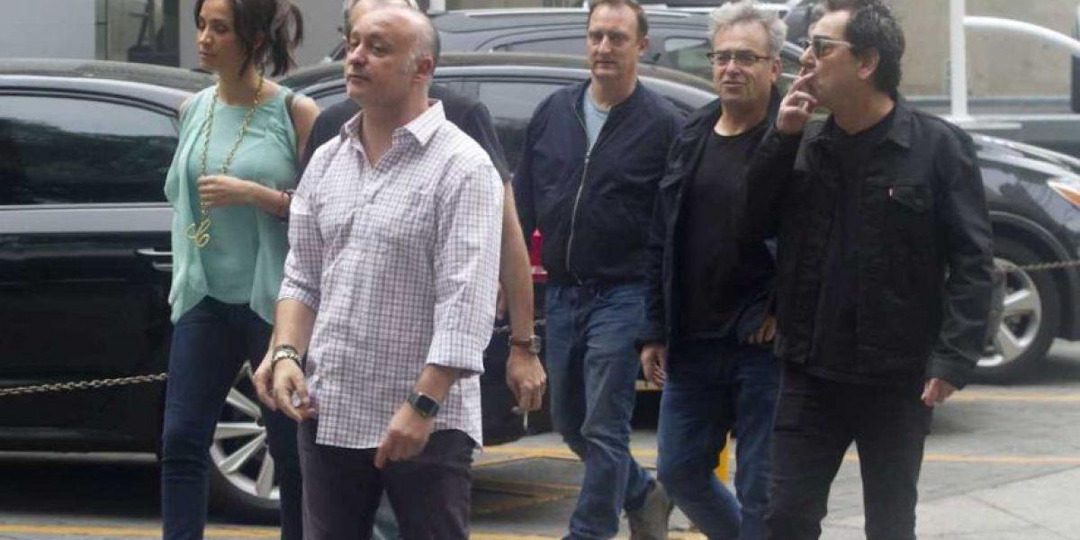Hombres G se pasean por las calles de la CDMX