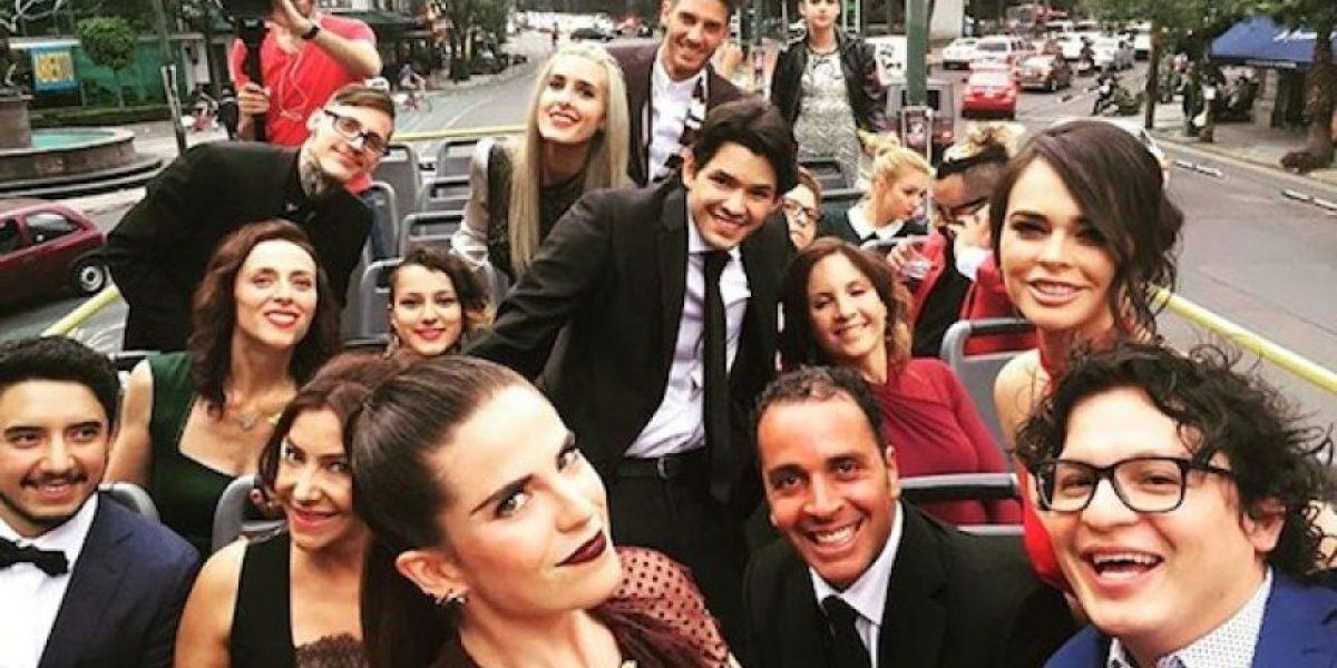 Karla Souza celebra con una fiesta el estreno de